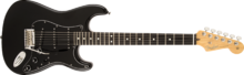 Fender Limited Edition 2015 American Standard Blackout Stratocaster