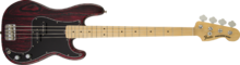 Fender Limited Edition Sandblasted Precision Bass with Ash Body