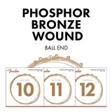 Fender Phosphor Bronze 11-52 Custom Light 60CL