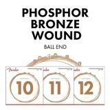 Fender Phosphor Bronze 11-52 Custom Light 60CL