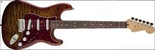 Fender Quilt Maple Top Artisan Stratocaster Rosewood - Tigereye