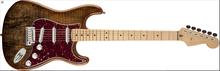 Fender Spalted Maple Top Artisan Stratocaster Maple