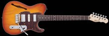 Fret-King Country Squire Semitone De Luxe - Honeyburst