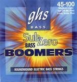 GHS Sub-Zero Bass Boomers CR-ML3045 45-100 Medium Light