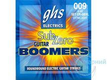 GHS Sub-Zero Guitar Boomers CR-GBXL 9-42 Extra Light