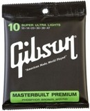 Gibson Masterbuilt Premium Phosphor Bronze Acoustic Guitar Super Ultra Lights 10-47