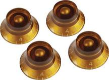 Gibson PRHK-030 Top Hat Knobs Vintage Amber