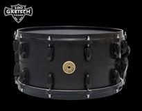 Gretsch 130th Anniversary 14x7 Flat Black Solid Aluminium