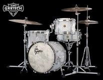 Gretsch 130th Anniversary Limited Silver Satin Flame