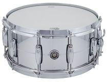 "Gretsch Brooklyn GB-4164S Chrome over Steel 14""x6,5"""
