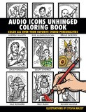 Hal Leonard Audio Icons Unhinged Coloring Book