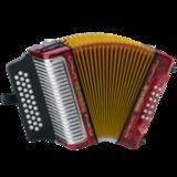 Hohner Corona III - Red