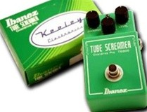 Ibanez TS808 Tube Screamer - Modded by Keeley