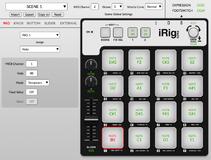 IK Multimedia iRig Pads Editor