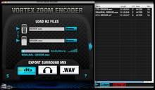Immersive Media Research Vortex Zoom Encoder