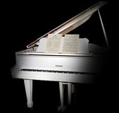 Imperfect Samples Hohner White Baby Grand