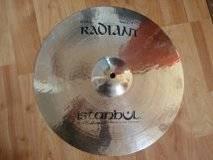 Istanbul Mehmet Radiant Rock Crash 15''