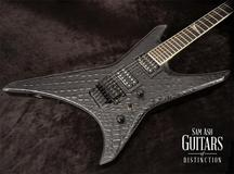 Jackson Custom Shop Black Dragon Warrior Built by Mike Shannon (SN: J8794)