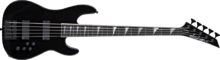 Jackson David Ellefson 5-String Concert Bass - 'Rust in Peace' 20th Anniversary