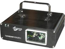 JB Systems Twinbeam Color Laser Mk2