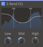kiloHearts kHs 3-Band EQ