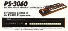 Korg PS-3060 programmer remote controller