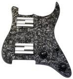 Lace Music Alumitone Loaded Pickguard H/H