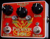 Larry Alan Guitars Phoenix Fire