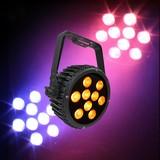 ledj Intense 9P10 RGBAW LED Slim Par