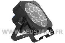 Ledstage PAR LED PLAT RGBAW+UV LSP1218
