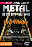 Lick Library Andy James' Metal Rhythm Guitar in 6 Weeks