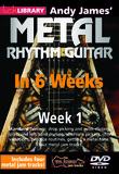 Lick Library Andy James' Metal Rhythm Guitar in 6 Weeks