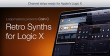 Loopmasters Essential Retro Synths for Logic X