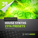 Loopmasters House Synths Z3ta Presets
