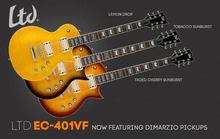 LTD EC-401VF DMZ - Tobacco Sunburst