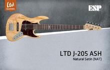 LTD J-205 Ash - Natural Satin