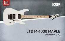 LTD M-1000 Maple - Snow White