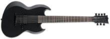 LTD Viper-7 Black Metal