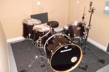 Ludwig Drums Centennial Black Sparkle 24