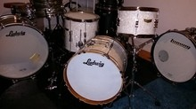 Ludwig Drums club date jazz
