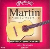 Martin & Co Classic Guitar Silver Plated M120 Plain End 28-43