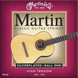 Martin & Co Classic Guitar Silver Plated M160 Ball End 28-43
