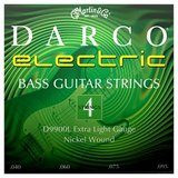 Martin & Co Darco Electric Bass Nickel Wound D9900L Extra Light 40-95