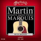 Martin & Co Marquis 80/20 Bronze M1100 Light 12-54