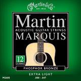 Martin & Co Marquis 92/8 Phosphor Bronze M2600 Extra Light 12-String 10-47 10-27