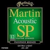 Martin & Co SP 80/20 Bronze MSP3600 Extra Light 12-String 10-47 10-27