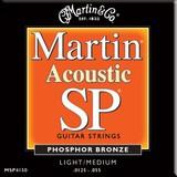 Martin & Co SP 92/8 Phosphor Bronze MSP4150 Light/Medium 12.5-55