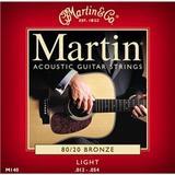 Martin & Co Traditional 80/20 Bronze M140 Light 12-54