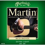Martin & Co Traditional 80/20 Bronze M170 Extra Light 10-47