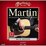 Martin & Co Traditional 80/20 Bronze M190 Light 12-String 12-54 12-30